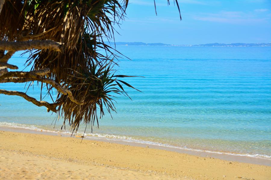 津堅島トゥマイ浜