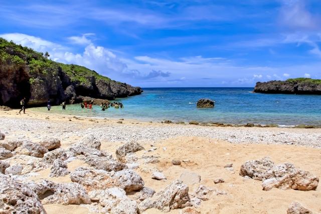 下地島中の島ビーチ